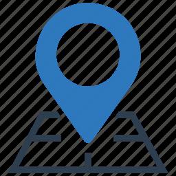 address, google maps, location, map, maps, street icon