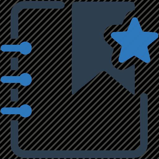address, blogging, bookmark, education, favorite, favorites icon