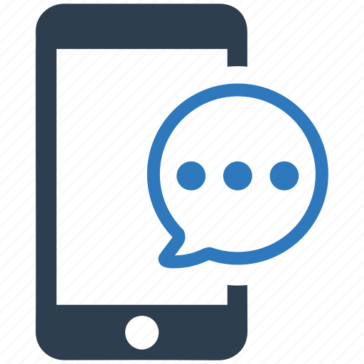 chat, messaging, mobile, mobile communication, sms, speech bubble, talk icon