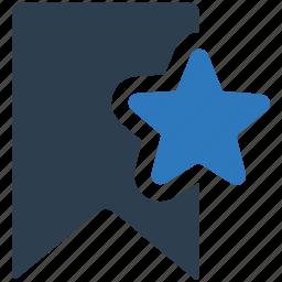 award, bookmark, favourite, star icon