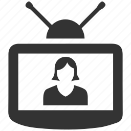 device, entertainment, television, tv icon