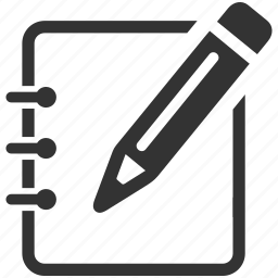 document, edit, edit file, file, note, pencil icon