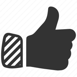favorite, finger, gesture, like, thumbs, up, vote icon