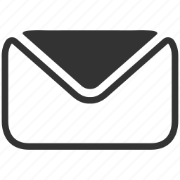 envelope, mail, message, sign icon