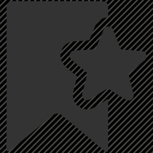 add, add bookmark, add favorite, riband, ribbon icon