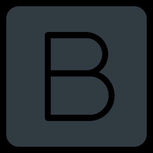 bootsrap, logo, media, social icon