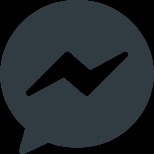 Facebook, logo, media, messenger, social icon - Free download