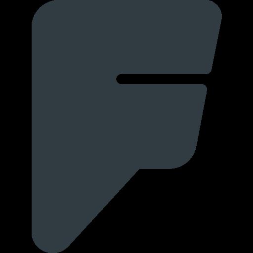 Foursquare, logo, media, social icon - Free download