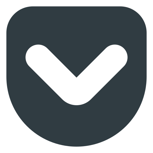 getpocket, logo, media, social icon
