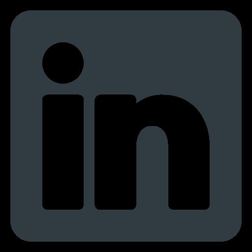 likedin, logo, media, social icon