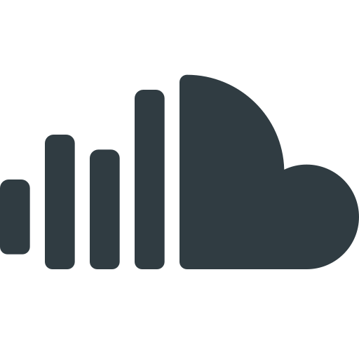 Cloud, logo, media, social, sound icon - Free download
