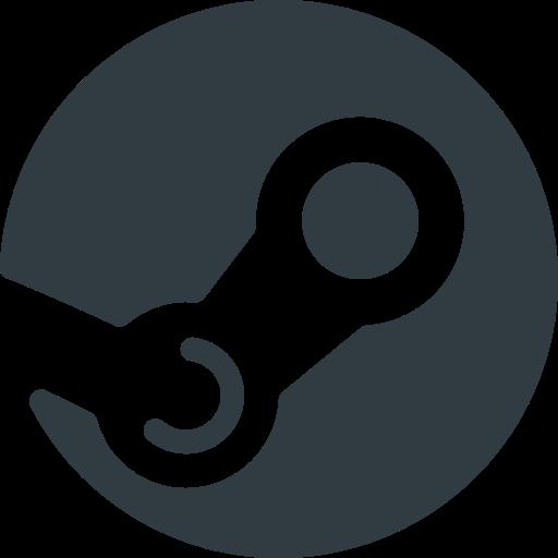 logo, media, social, steam icon