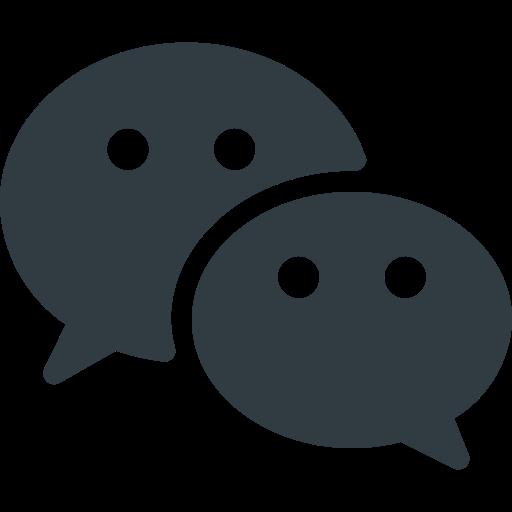 logo, media, social, wechat icon