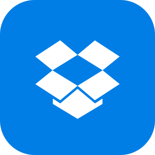 android, app, dropbox, global, ios, media, social icon