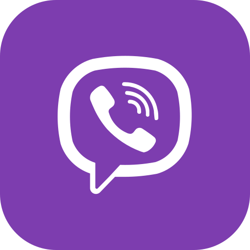 android, app, global, ios, media, social, viber icon