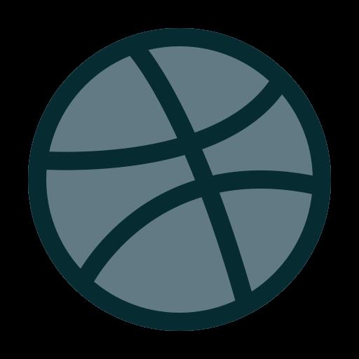 design, dribbble, portfolio icon