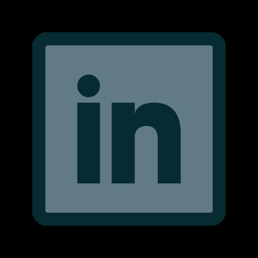 business, employment, linkedin, work icon