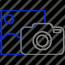 camera, image, lens, photo, picture icon