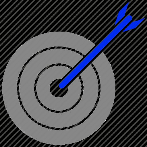 achievement, arrow, arrows, dart, game, gool icon