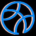 dribbble, internet, media, social, ui, ux icon