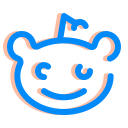 forum, internet, media, reddit, social, ui, ux icon