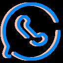 internet, media, social, ui, ux, whatsapp icon