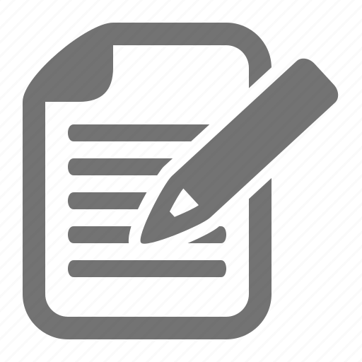 article, blog, document, edit, pencil, post, write icon