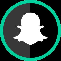 logo, media, online, snapchat, social icon