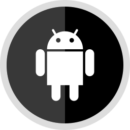 android, logo, media, online, social icon