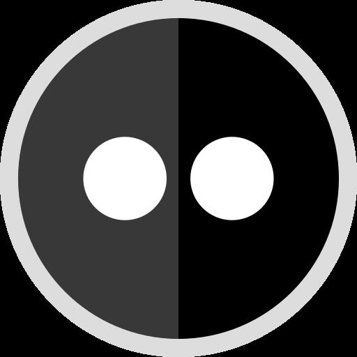 flickr, logo, media, online, social icon