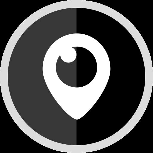 logo, media, online, periscope, social icon
