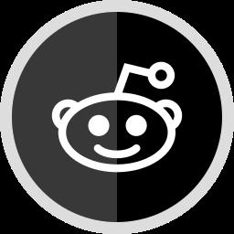 logo, media, online, reddit, social icon