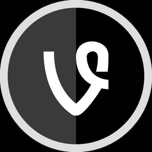 logo, media, online, social, vine icon