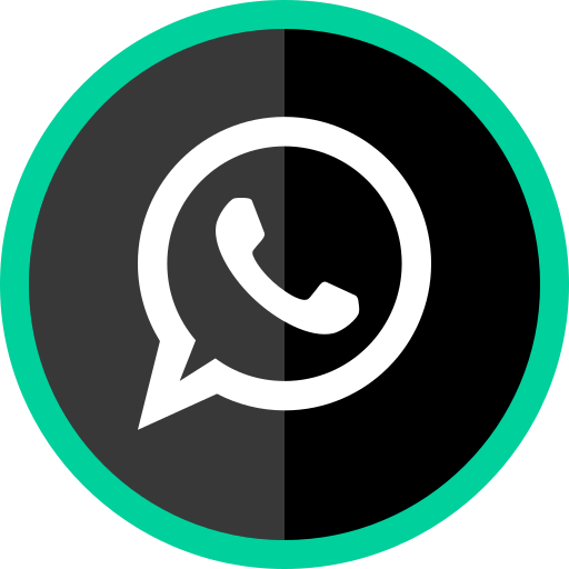logo, media, online, social, whatsapp icon