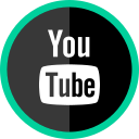 logo, media, online, social, youtube icon