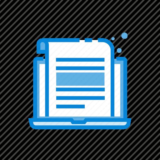 best, blog, computer, device, write icon