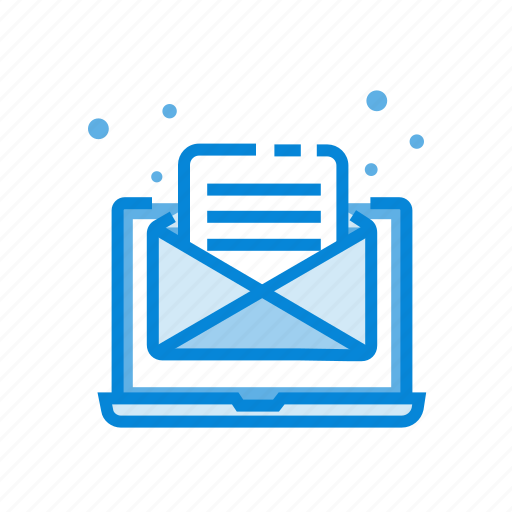 computer, email, letter, mail, send icon