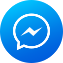 circle, gradient, high quality, media, messenger, social, social media icon