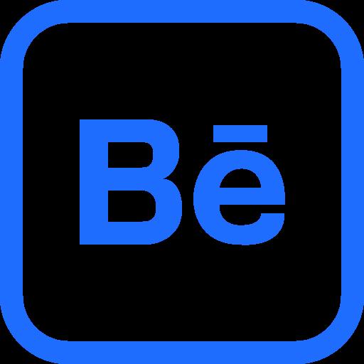 behance, design, media, portfolio, share, social, yumminky icon
