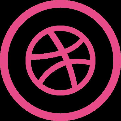design, dribbble, media, portfolio, share, social, yumminky icon