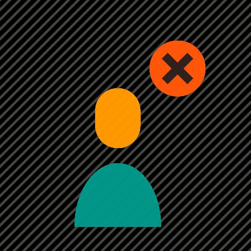 Account, block, contact, delete, profile, remove, unfriend icon - Download on Iconfinder
