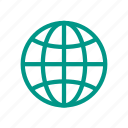 blue, connecting, connection, earth, globe, planet, world icon