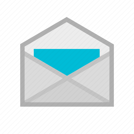 email, envelope, inbox, mail, message, notification, open icon