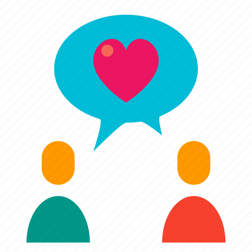 comment, commenting, love, partners, relationship, romance, talk icon