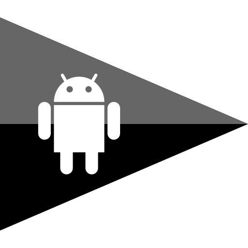 android, flag, media, social icon