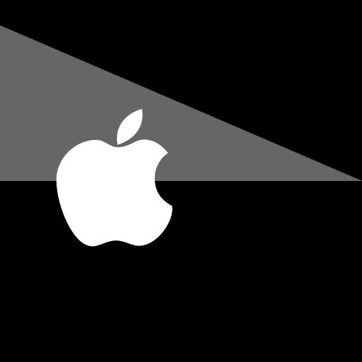 apple, flag, media, social icon