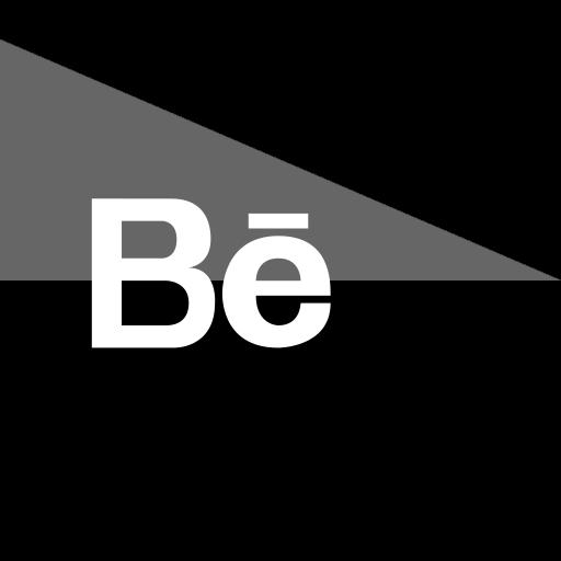 behance, flag, media, social icon