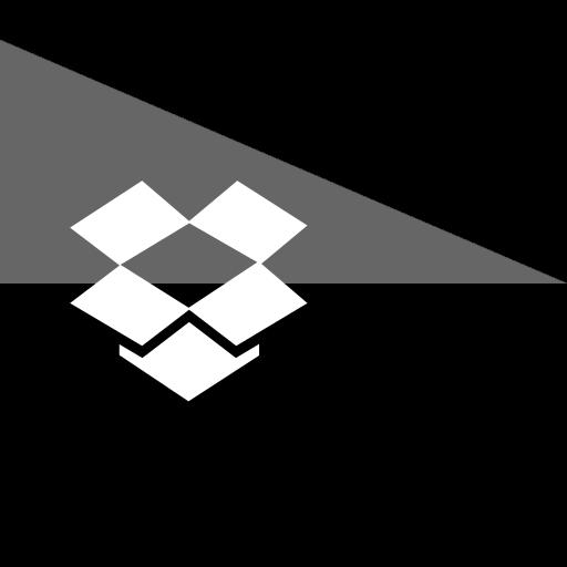 dropbox, flag, media, social icon