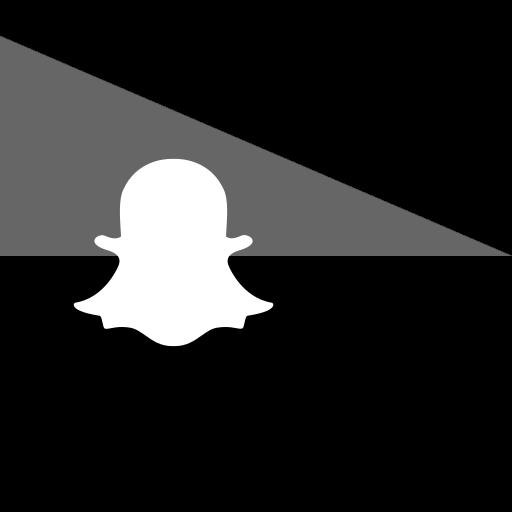 flag, snapchat, social icon