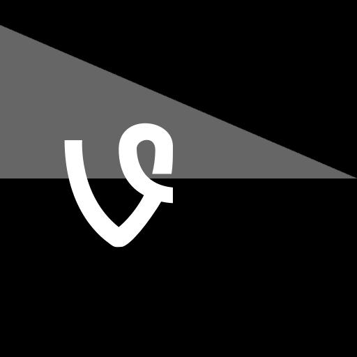 flag, media, social, vine icon